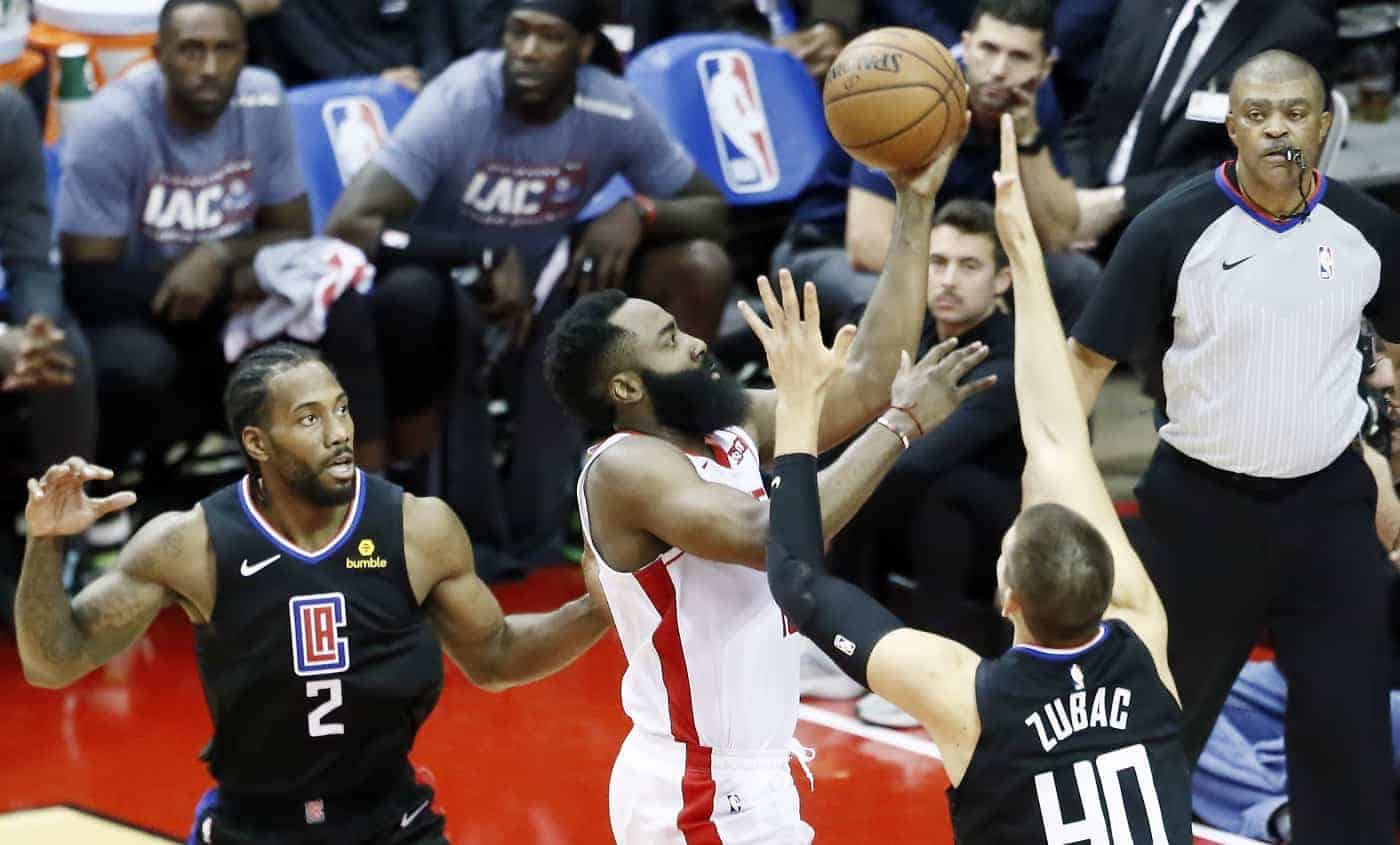 CQFR : Harden domine Kawhi, Morant for the win
