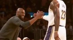 Kobe Bryant va accueillir avec joie le fait d'être dépassé par LeBron James