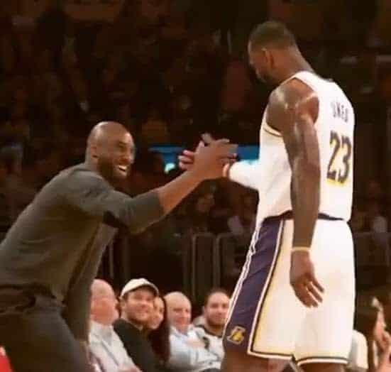 LeBron James : «J'ai essayé de faire le show pour Kobe»