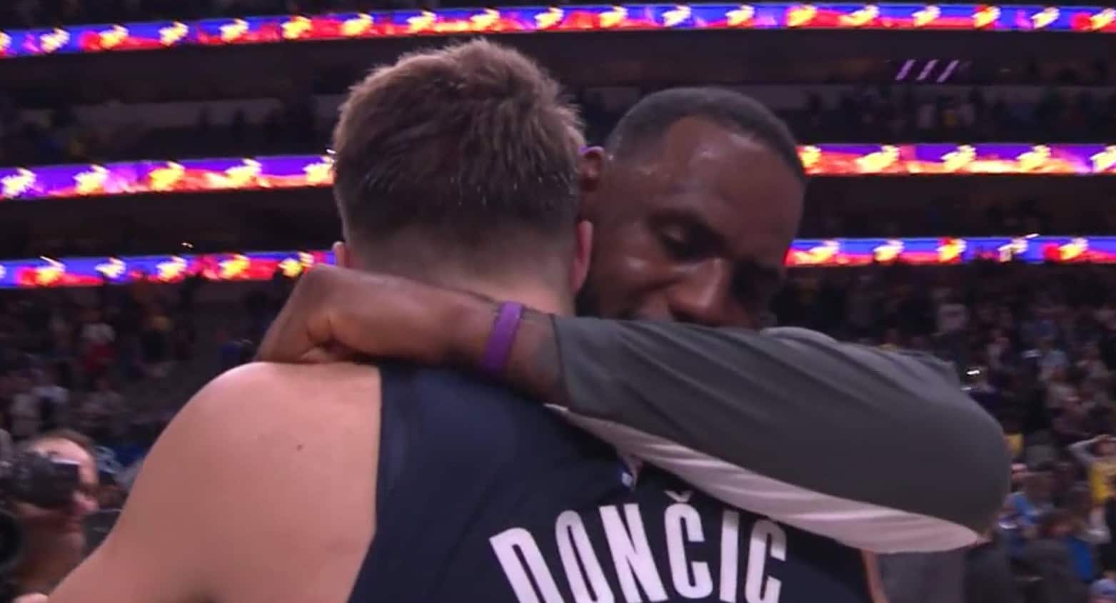 LeBron à Doncic : « You're a bad motherf***er »
