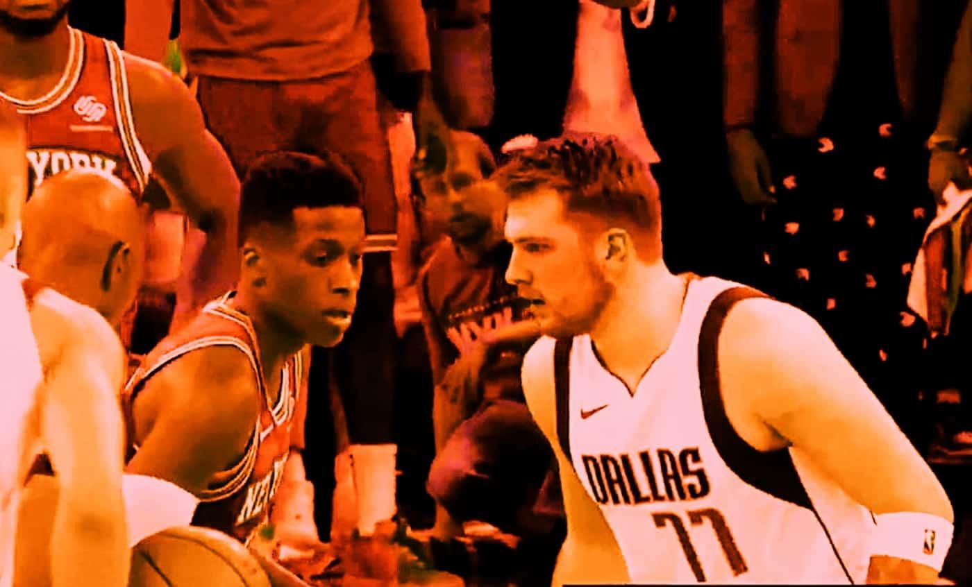 Ntilikina vs Doncic, la séquence-clé qui a boosté les Knicks