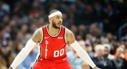Après son moment difficile, Carmelo Anthony a trouvé «la paix»