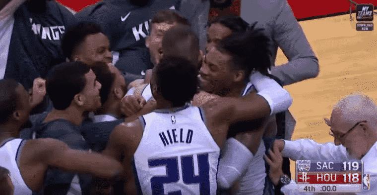 26 secondes chrono : Fin de match folle entre les Kings et les Rockets