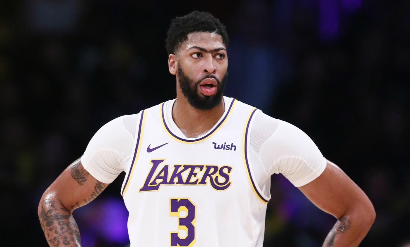 Anthony Davis NBA Los Angeles Lakers