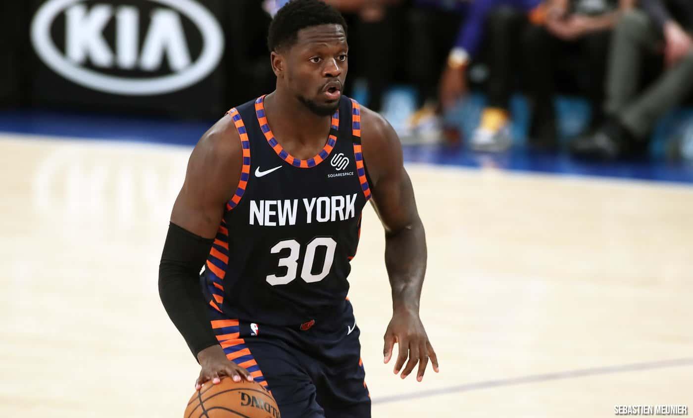 Julius Randle serait l'avenir des Knicks... qui veulent quand même le tester - BasketSession