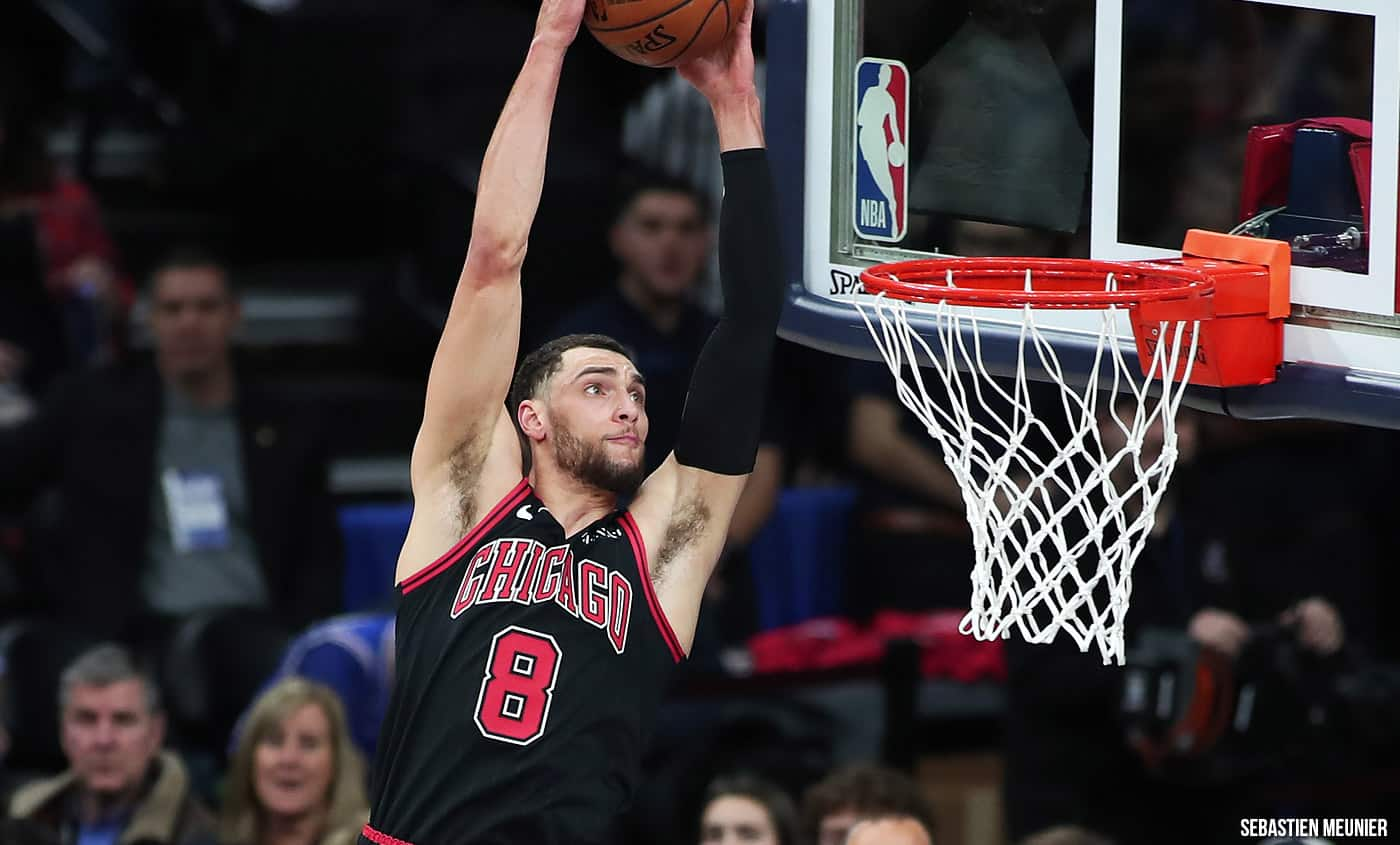 NBA parallèle Zach LaVine Chicago Bulls