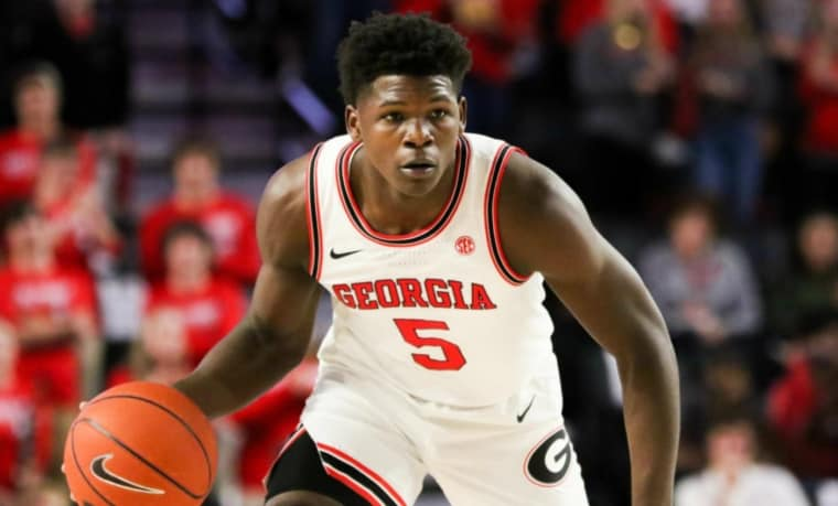 Anthony Edwards, le first pick se présente à la Draft 2020