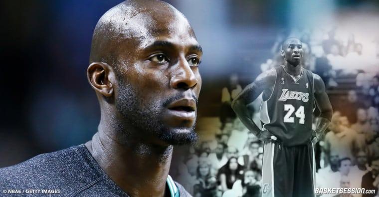 Garnett voulait rejoindre Kobe aux Lakers en 2007