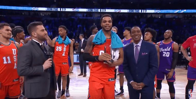 Le Team USA remporte le Rising Stars Challenge, Bridges MVP