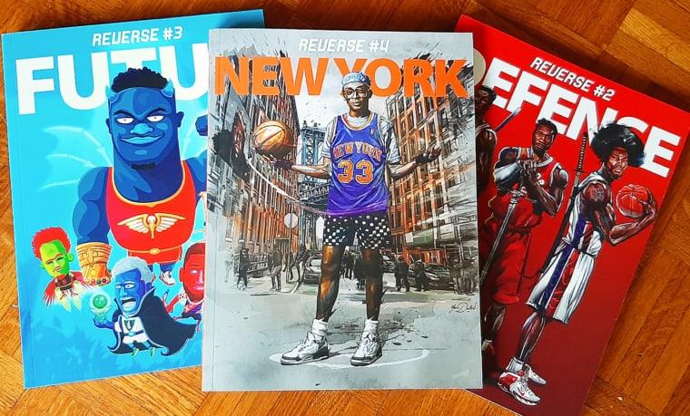 Mook REVERSE #4 : 240 pages pour tout savoir du basket à NYC