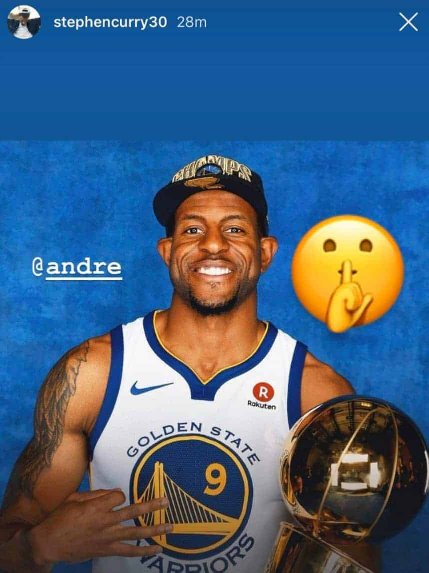 Andre Iguodala Stephen Curry
