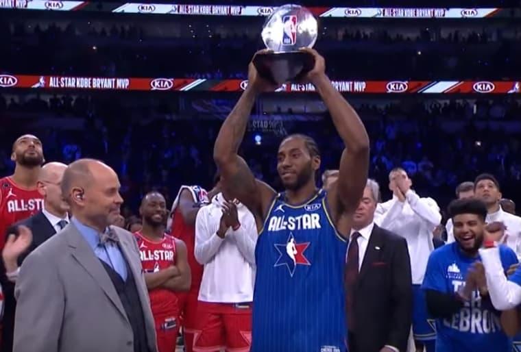 La Team LeBron remporte le All-Star Game, Kawhi MVP !