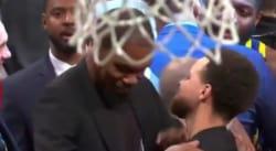 Kevin Durant-Stephen Curry, des retrouvailles et un hug