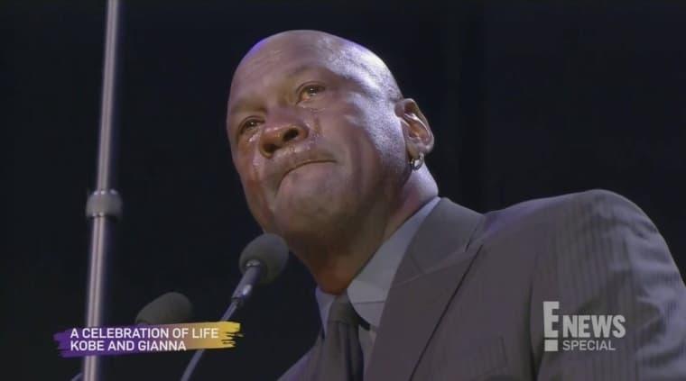 Michael Jordan en larmes pour rendre hommage à Kobe Bryant