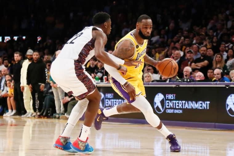 Derniers adversaires des Nets, les Lakers vont être testés au COVID-19