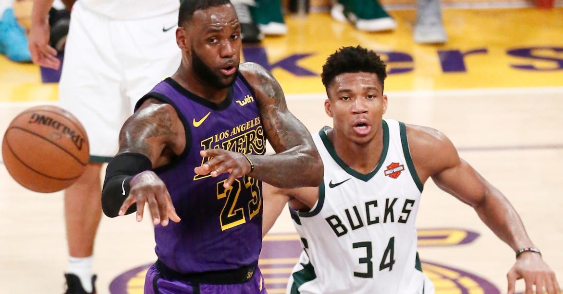 CQFR : LeBron et les Lakers trop forts pour Giannis et les Bucks