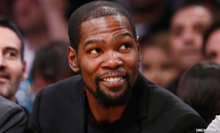 Kevin Durant milite déjà aux Nets pour une signature cette intersaison