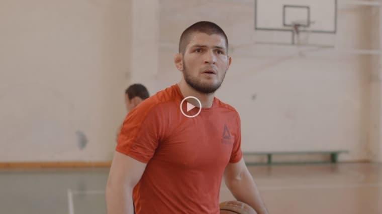 Quand Khabib Nurmagomedov faisait découvrir le basket façon Dagestan à un ancien joueur NCAA