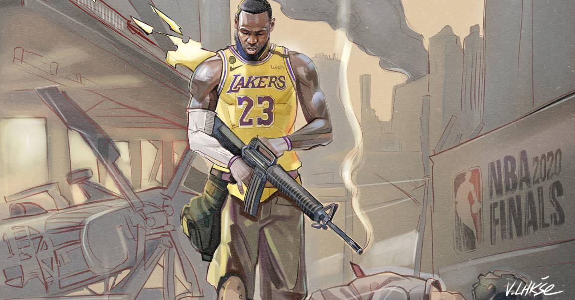 NBA APOCALYPSE LeBron James