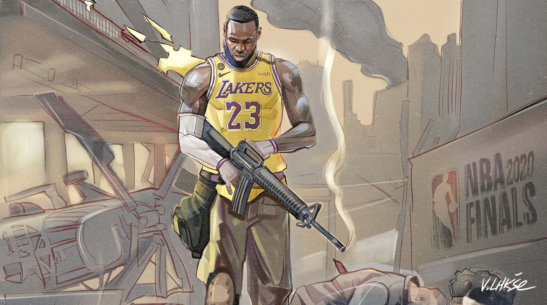 NBA APOCALYPSE LeBron James
