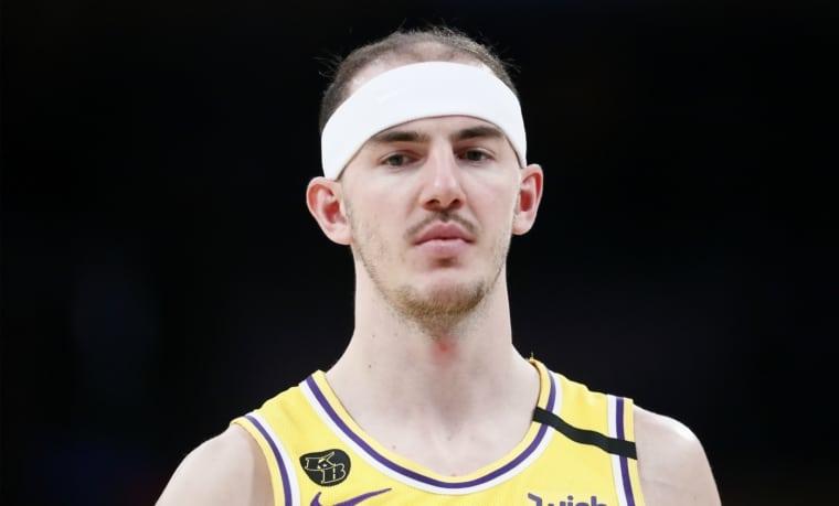 La réaction épique des coaches des Lakers en rencontrant Alex Caruso en 2017