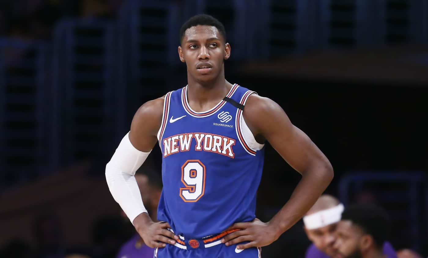 RJ Barrett New York Knicks