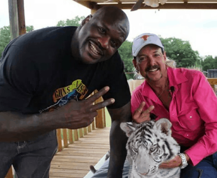 Tiger King : Shaq plaide l'ignorance après le bad buzz