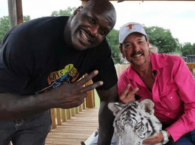 Tiger King : Shaq plaide l'ignorance après le bad buzz