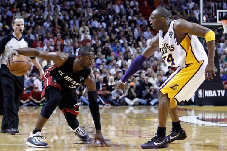 Dwyane Wade se souvient quand il a gagné le respect de Kobe Bryant