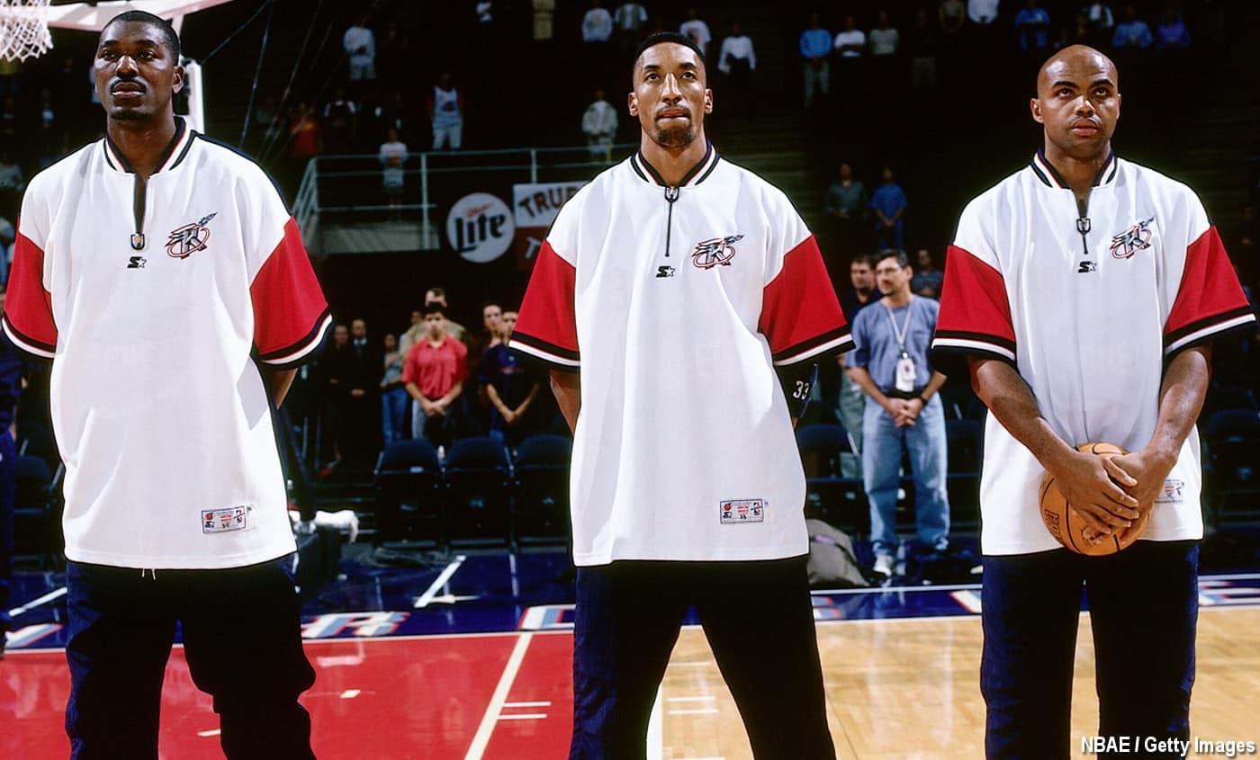 Rockets Barkley Pippen Olajuwon