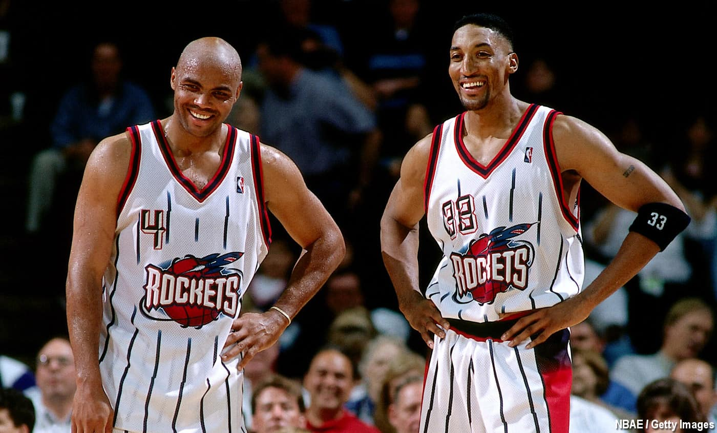 Rockets Scottie Pippen Charles Barkley