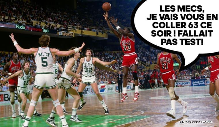 Michael Jordan : la partie de golf qui a mené à l'une des performances les plus folles de l'histoire de la galaxie de l'univers