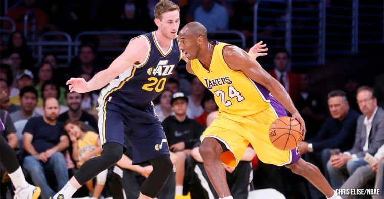 Les 3 dernières minutes du dernier match de Kobe Bryant, du grand art !