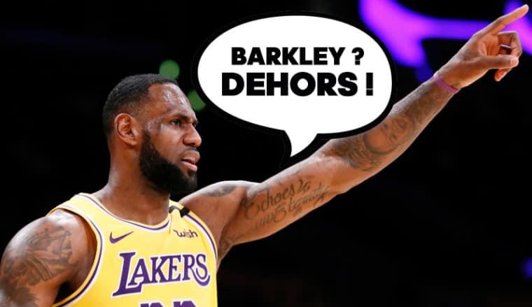 Pour Barkley, LeBron n'est que le 7e meilleur joueur All-Time… les fans vont se déchaîner