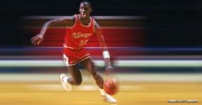 Michael Jordan avait une vitesse au sprint complètement flippante