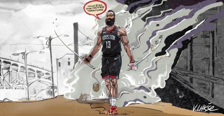NBA APOCALYPSE Ep. 3 : LeBron affronte un terrible gang