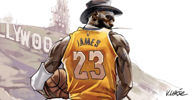 J.R. Smith fait une énorme bourde, LeBron à bout de nerfs dans NBA APOCALYPSE