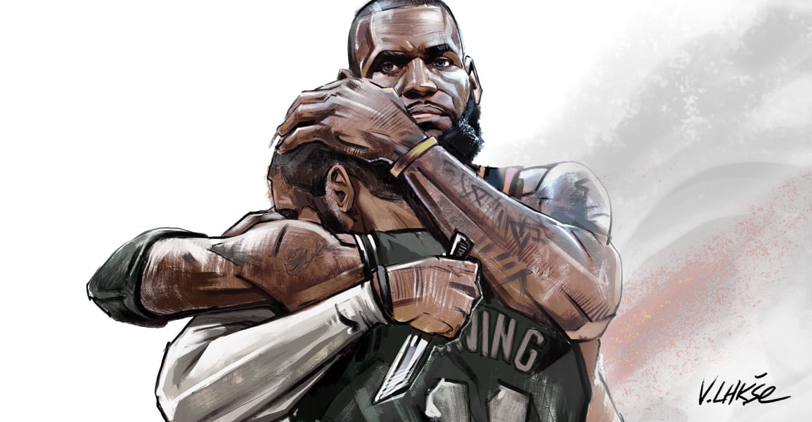 NBA APOCALYPSE LeBron James Kyrie Irving