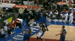 Quand Nate Robinson (1,75 m) passait par-dessus Ricky Davis pour le contrer