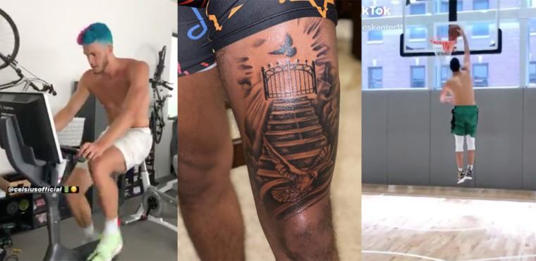INSIDE : Trae Young fier de son tatouage, Kanter fier de sa corgette et les réactions des joueurs pendant The Last Dance