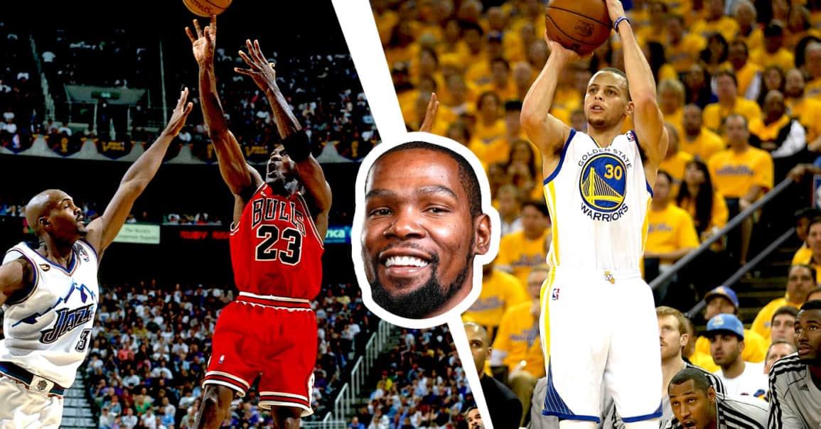 Kevin Durant analyse le jeu de Michael Jordan, fait un parallèle avec Curry et c'est hyper intéressant