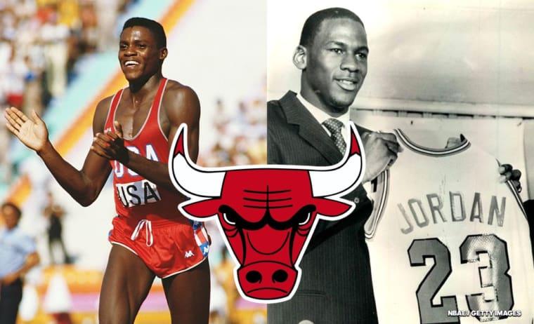 Le jour où les Bulls ont drafté Michael Jordan et… Carl Lewis!