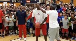 Le jour où Chris Paul a lancé un défi à Michael Jordan