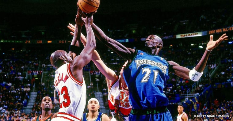 Michael Jordan continue de vanner Kevin Garnett avec la même anecdote 25 ans après