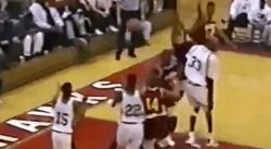 Quand Kobe Bryant marquait un panier impossible au lycée