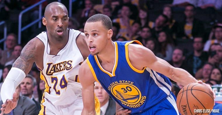 Pourquoi Kobe Bryant se voyait en Stephen Curry et Klay Thompson
