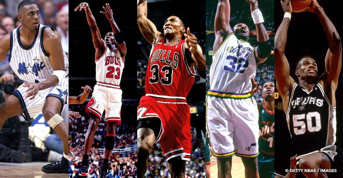 NBA 1st TEAM 1996