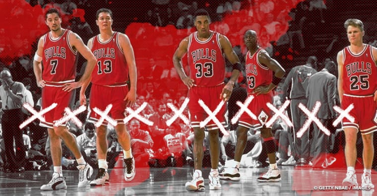 Ces 9 équipes qui ont battu les Bulls 96, la meilleure team de l'histoire