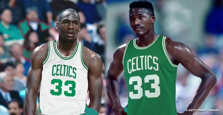 Boston avait tenté un trade pour réunir Michael Jordan et Dominique Wilkins