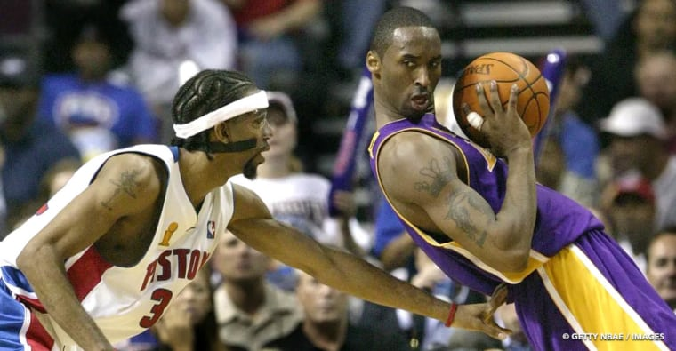 Kobe Bryant avait fait naître la peur chez Rip Hamilton